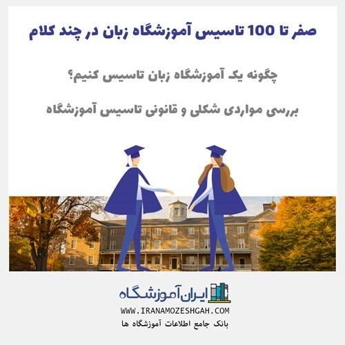 صفر تا 100 تاسیس آموزشگاه زبان در چند کلام - چگونه یک آموزشگاه زبان تاسیس کنیم؟