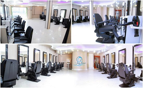 آموزشگاه آرایشگری مردانه نیک رویان شعبه نازی آباد