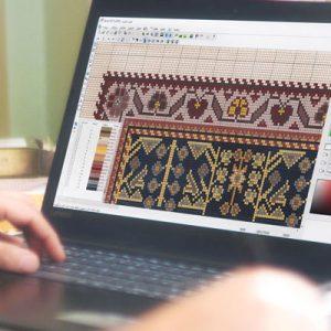 نرم افزار طراحی فرش طوبی