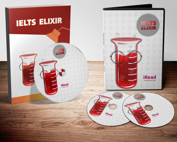 فروش پکیج آموزش ریدینگ Reading آیلتس IELTS - IELTS Elixir iRead